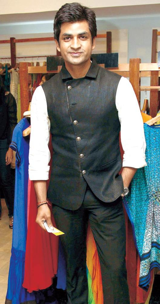 Manish Goyal Looks Dapper In A Stylish Waistcoat At FUEL The Fashion Store Collection Launch