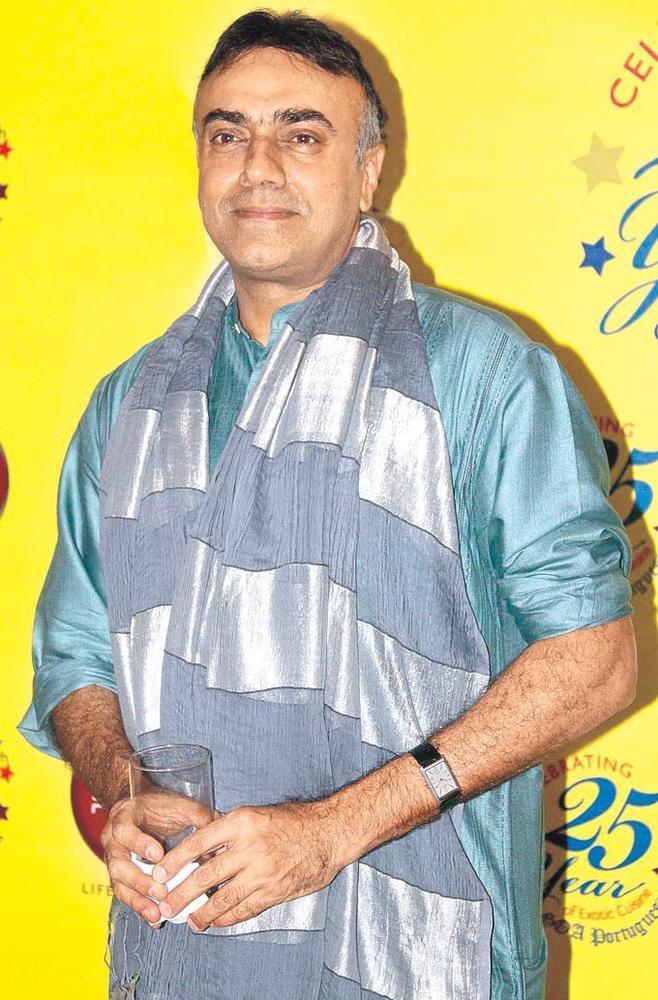 Rajit Kapur Attend The Anniversary Bash Of Restaurant 'Goa Portuguesa'