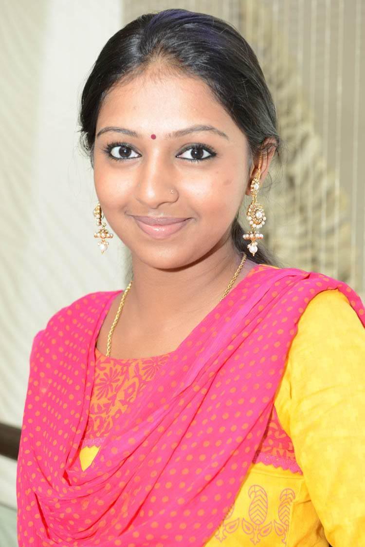 Lakshmi Menon Nice Look With Cute Smiling Photo Still At Gajaraju Press Meet