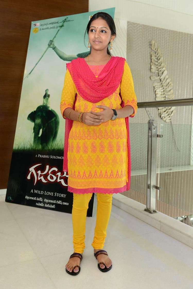 Lakshmi Menon Spotted At Gajaraju Press Meet