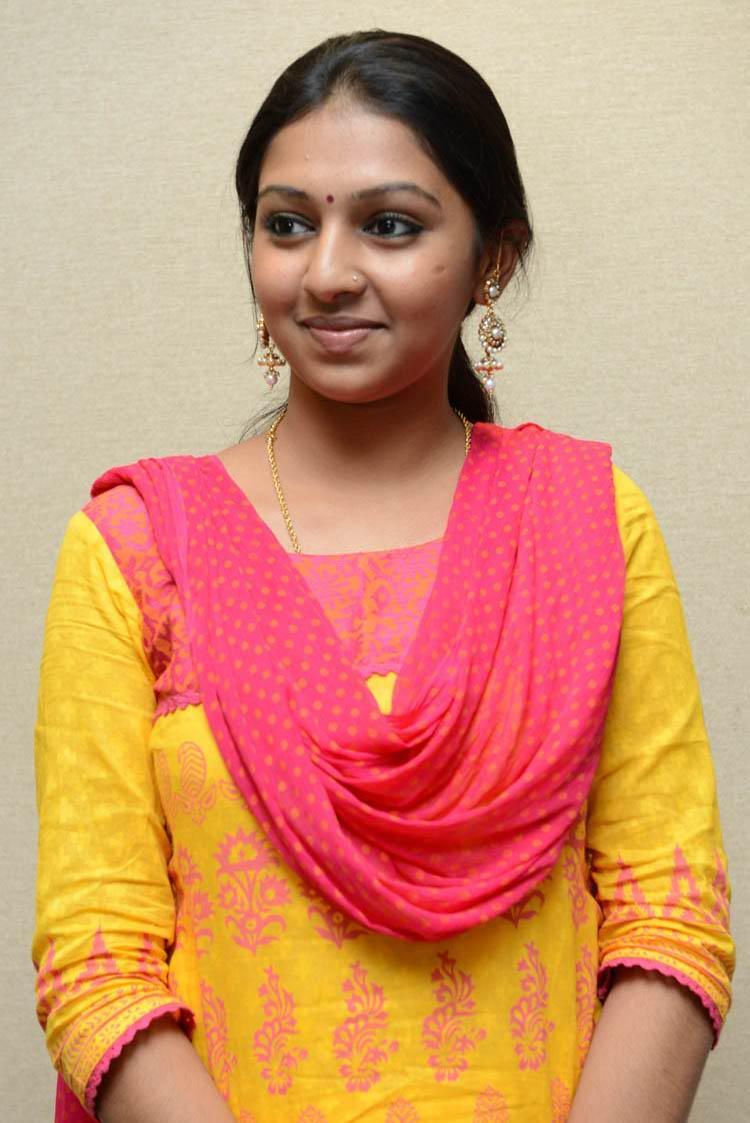 Lakshmi Simple Look Photo Still At Gajaraju Press Meet