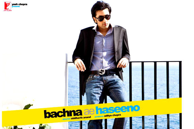 Ranbir Kapoor Stylish Look In Bachna Ae Haseeno Movie Poster
