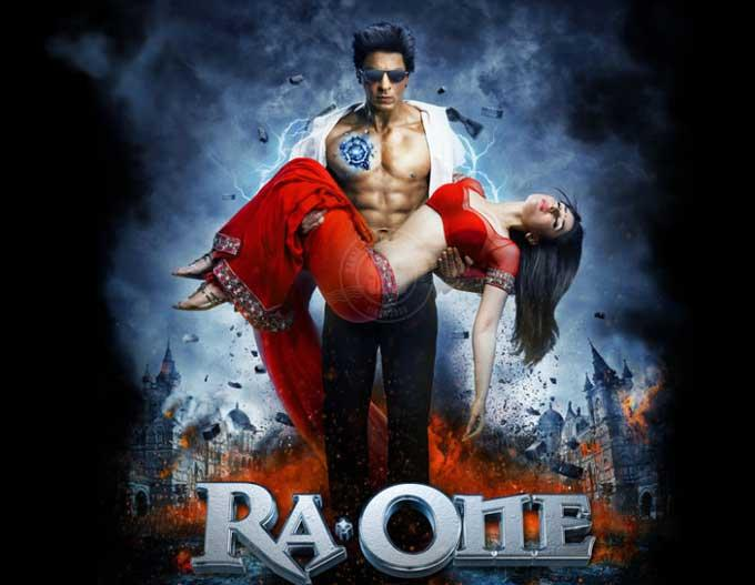 SRK And Kareena Kapoor In RA.ONE Movie Poster