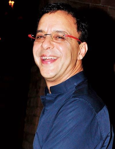 Vidhu Vinod Chopra Smiling Still