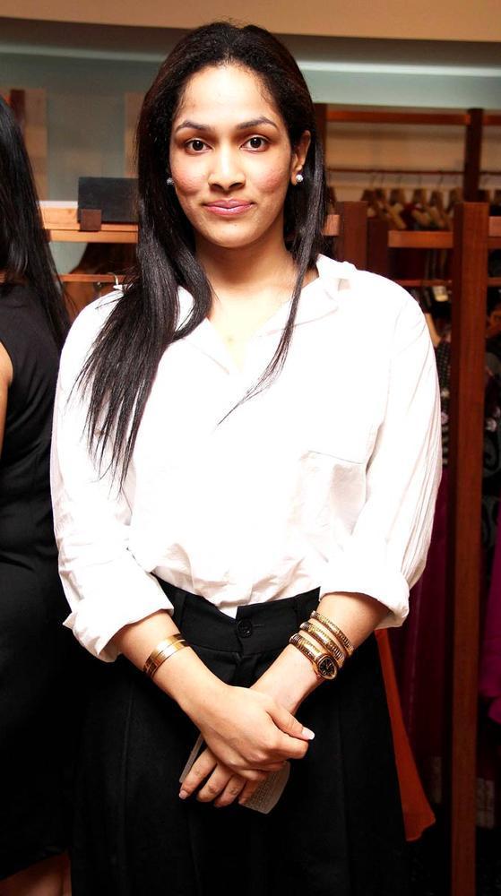 Masaba Gupta At Aanchal Kumars New Collection Launch