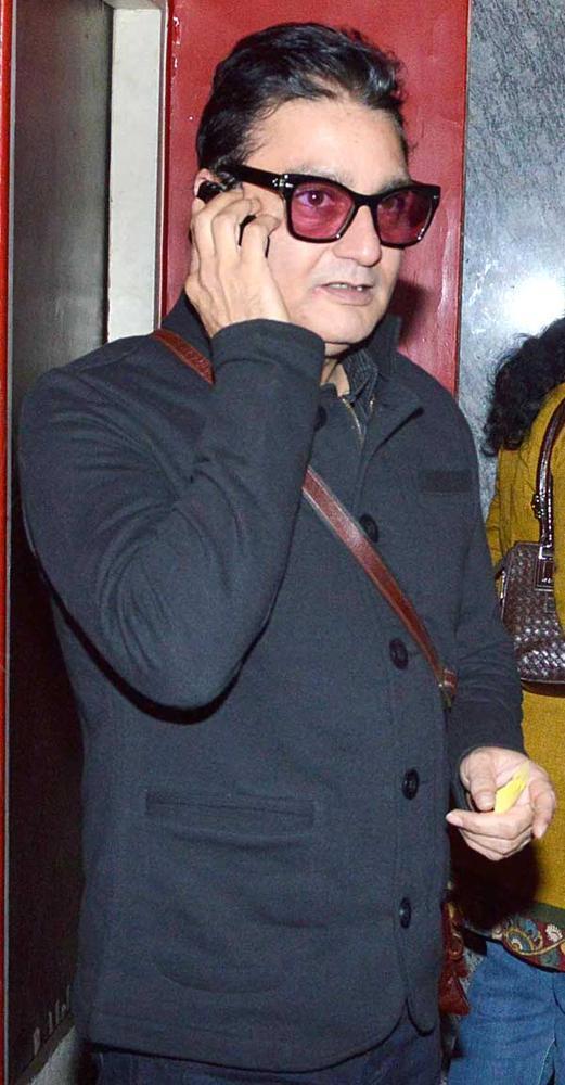 Vinay Pathak Spotted At Khiladi 786 Screening