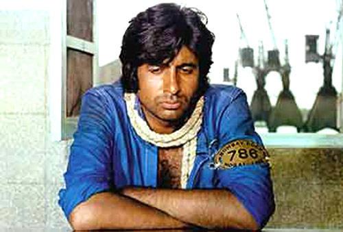 Amitabh Photo From Movie Deewar