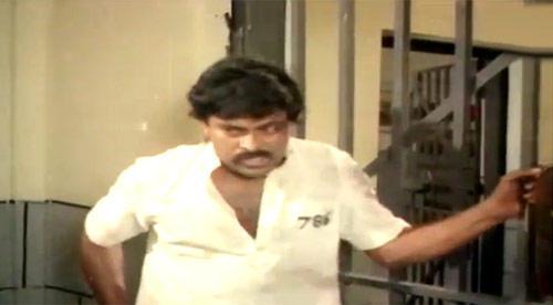 Chiranjeevi Photo Still From Telugu Film Khaidi No.786