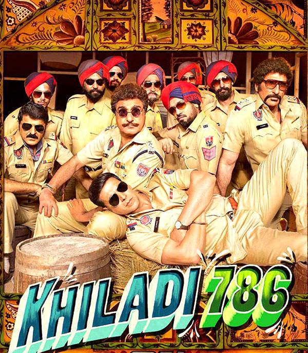 The Poster Of Akshay Kumar's Khiladi 786