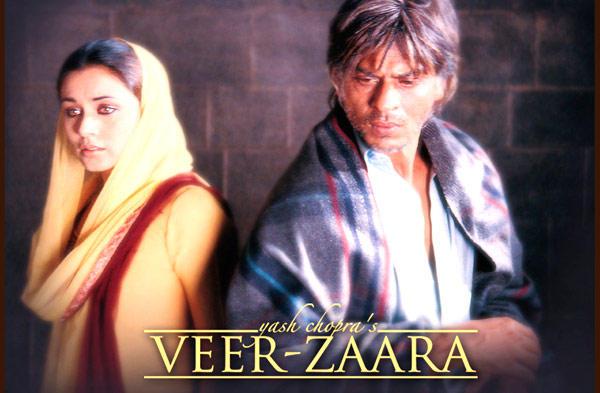 Shahrukh And Rani Photo From Movie Veer-Zaara