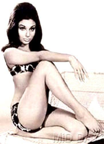 Sharmila Tagore In Bikini Sexy Look Still