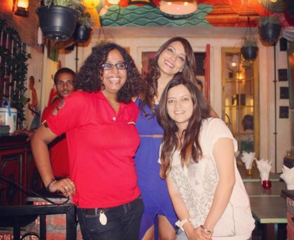 Bipasha ,Kanika And Surjapriya Snapped At A New Restaurant In Bandra