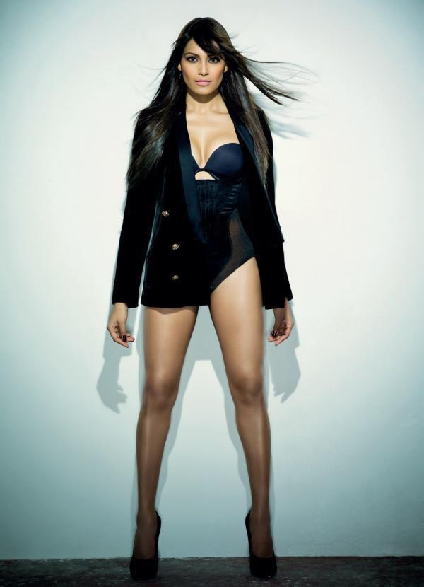 Bipasha Basu Hot Photo Shoot In Mini Dress For Maxim India December 2012