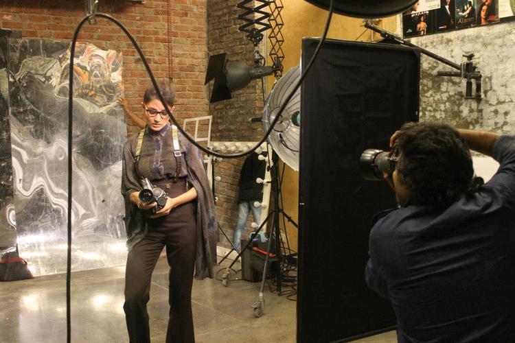 Anushka Sharma Posed For Camera During Photo Shoot Of Verve Magazine