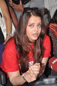 Aishwarya Rai Snapped During Promotion Of World Aids Day