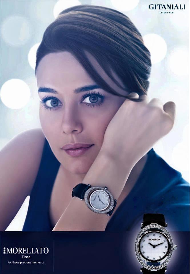 Preity Zinta Looked Gorgeous In Gitanjali Morellato Time Ad Photo