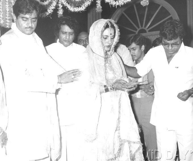Shatrughan And Poonam Marriage Still