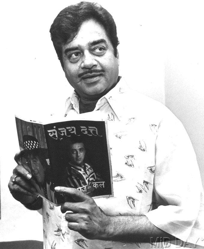 Shatrughan Sinha At A Book Launch Event