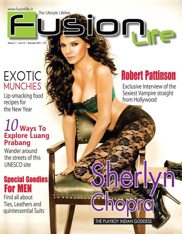Sherlyn Chopra On The Cover Of Fusion Life Magazine
