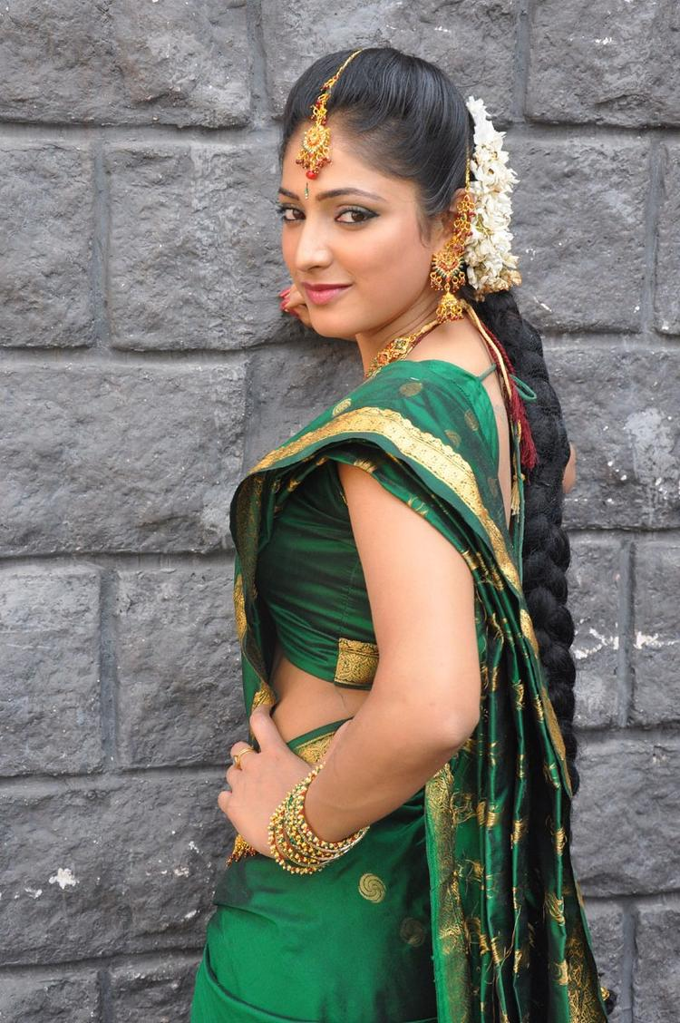 Haripriya Cute Look Photo Still In Bridal Wear