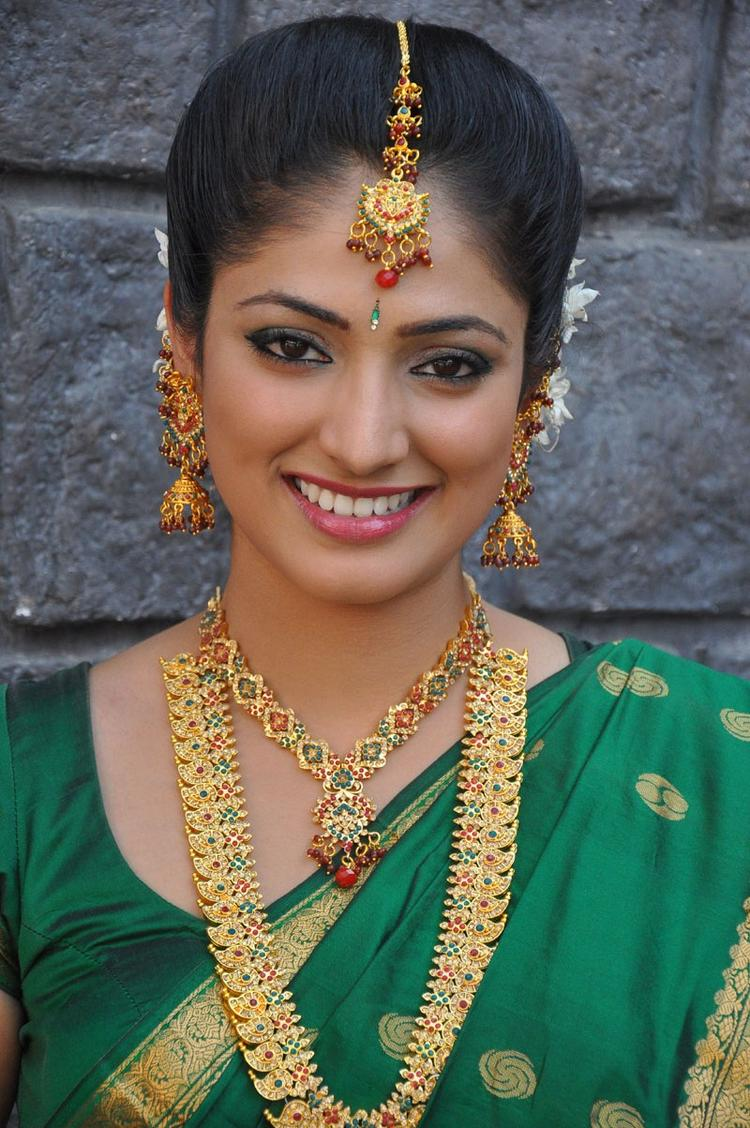 Haripriya Nice Look With Cute Smiling Still