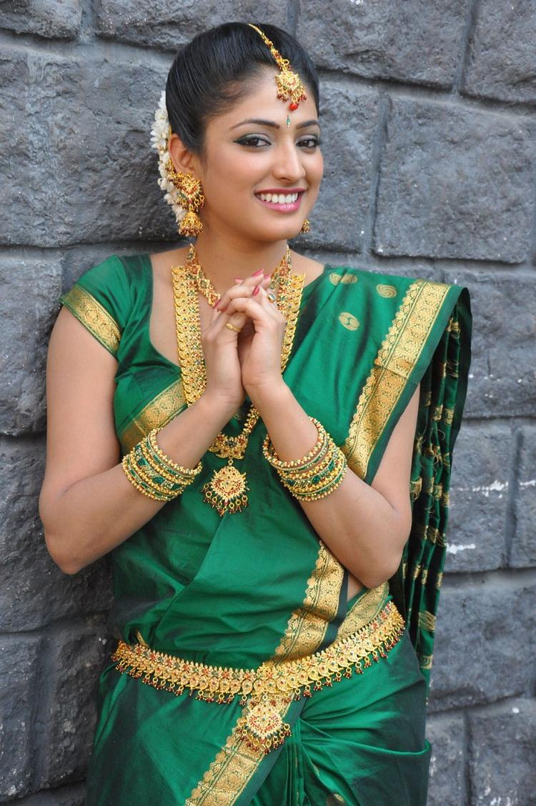 Haripriya Smiling Face Look Still