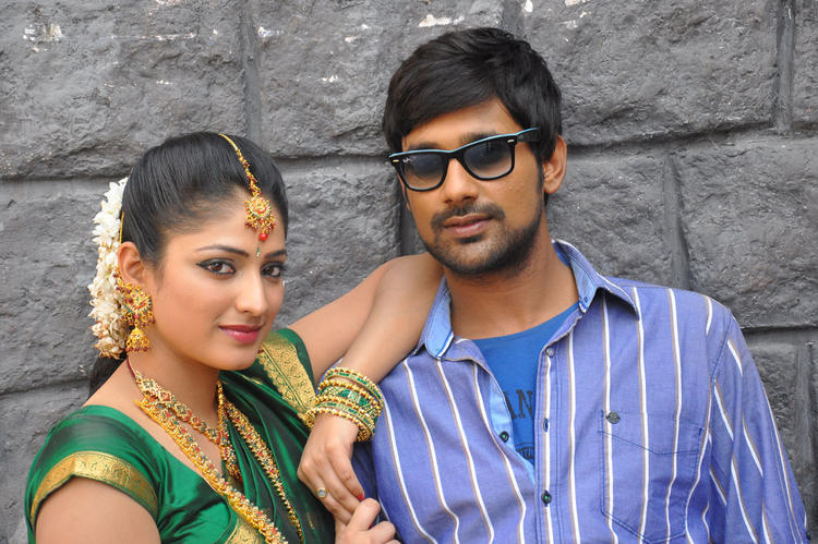 Haripriya And Varun Sizzling And Dashing Still At Abbai Class Ammai Mass Movie Location