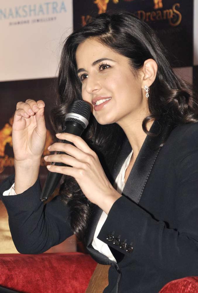 Katrina Kaif Speaks At The Website Launch Of A Major Jewellery Brand