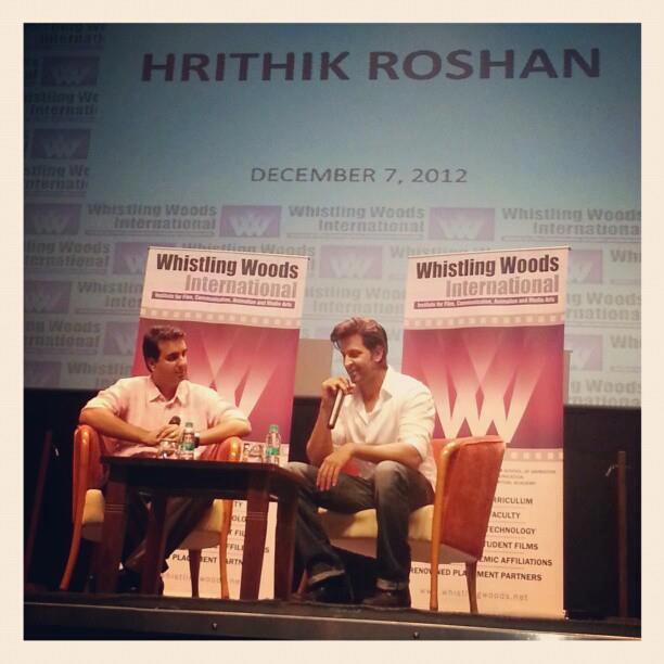 Hrithik Roshan Snapped At Virtual Academy Launch Of Whistling Woods