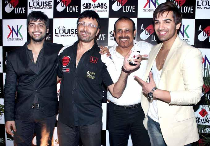The A Capsule Of Love Movie Team Posed At The Launch Of Sara Khan Production House