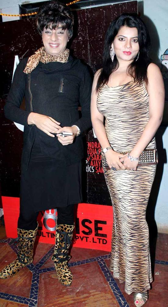 Rohit And Shraddha Spotted During The Launch Of Sara Khan Production House