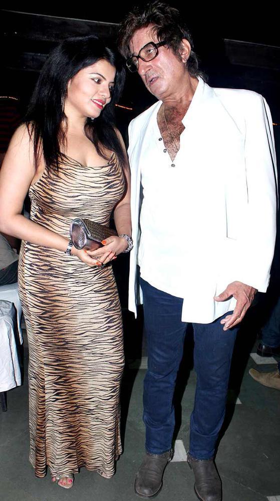 Shraddha And Shakti Chatting Still At The Launch Of Sara Khan Production House