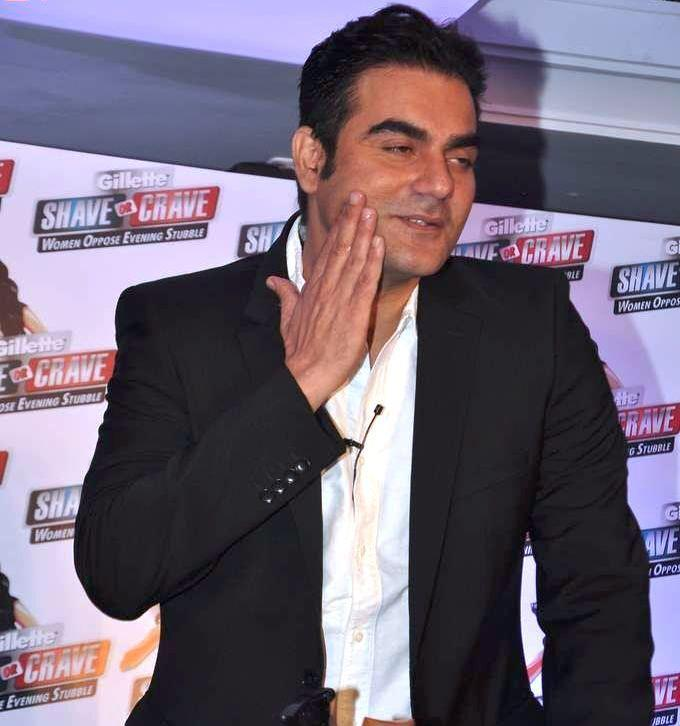 Arbaaz Khan During The Promotional Event Of Gillette