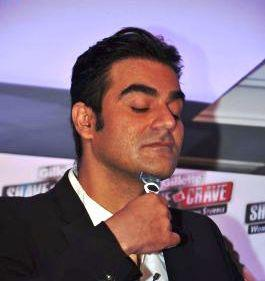Arbaaz Khan Shaves During The Promotional Event Of Gillette