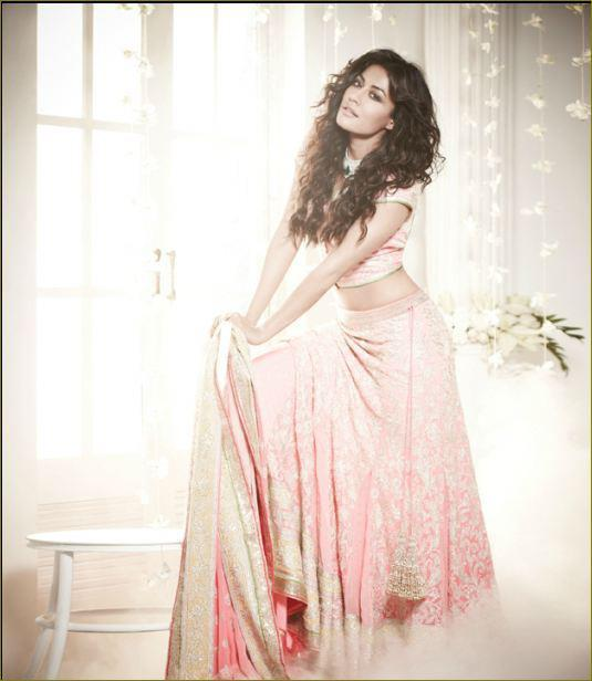 Chitrangada Looked Ravishing In A Pink Ensemble For The Cover Of L Officiel India Nov
