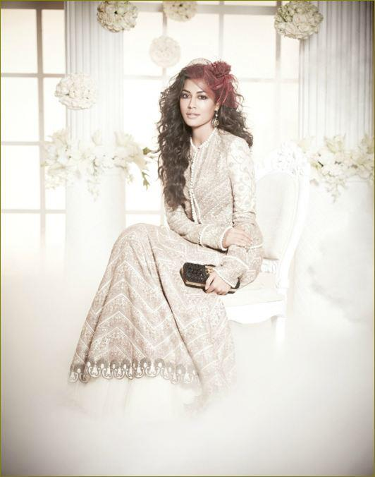 Chitrangada Photo Shoot In A White Gown For L Officiel Magazine