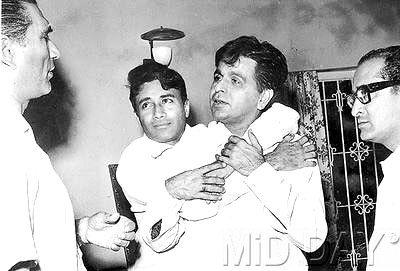 Dilip Kumar And Dev Anand Cool Still