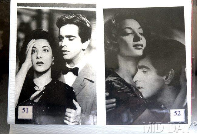Dilip Kumar Romantic Photo From A Movie Still