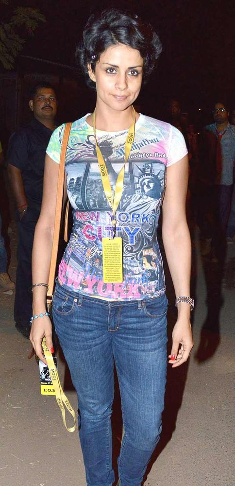 Gul Panag Spotted At Guns N Roses Concert