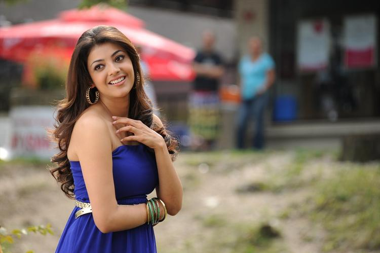 Kajal Aggarwal Cute Smiling Still