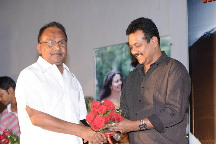 Celeb Guest With Bouquet At Shivani Audio Release Function