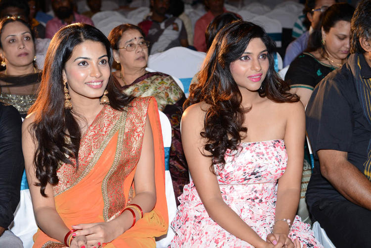 Laxmi And Kavya During The Audio Release Function Of Shivani Movie