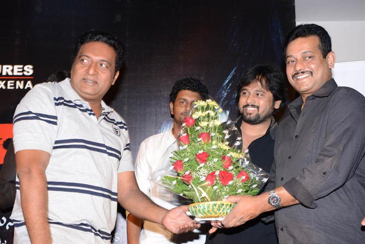 Prakash Raj Posed For Camera At Shivani Audio Release Function