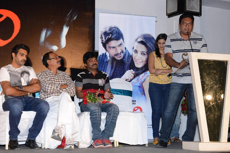 Prakash Speaks Still At Shivani Audio Release Function