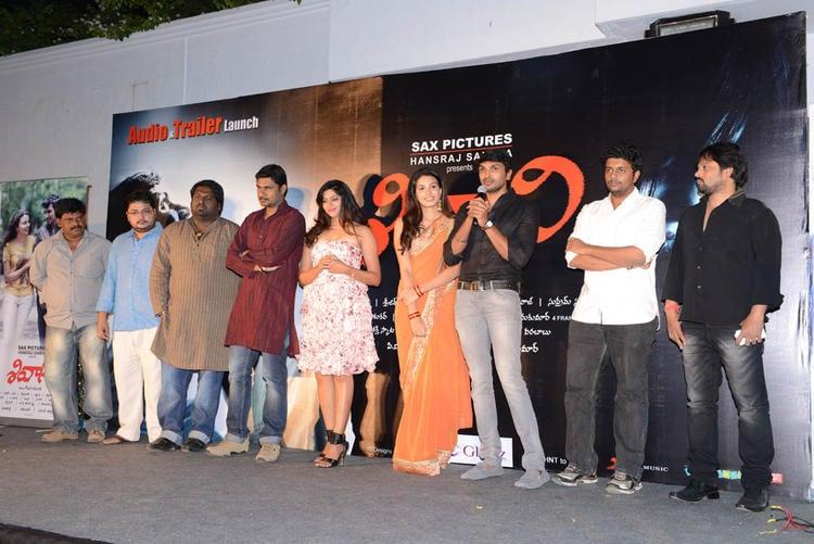 Taraka,Laxmi And Kavya Snapped At Shivani Audio Release Function