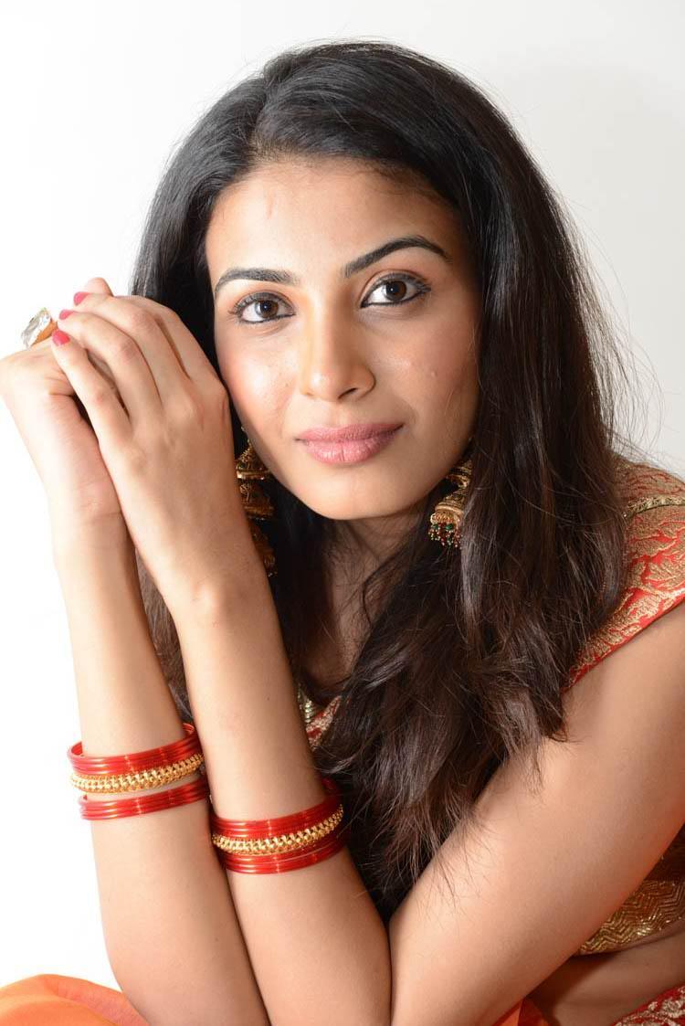 Kavya Charming Look Still At Shivani Movie Audio Release Function