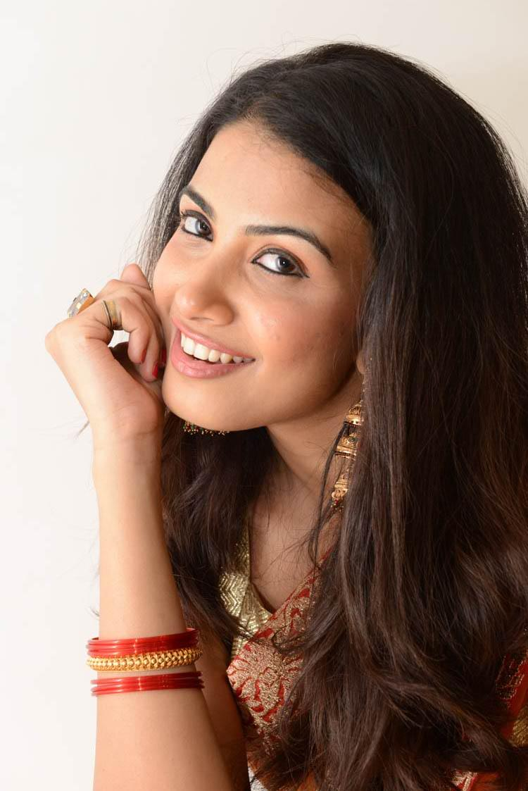Kavya M. Shetty Smiling Still At Shivani Movie Audio Release Function