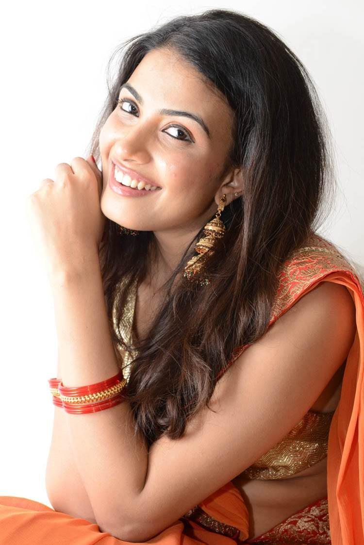 Kavya Stunning Look Still At Shivani Movie Audio Release Function