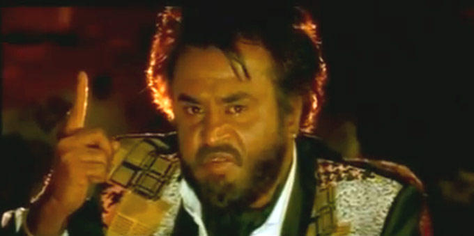 Rajnikanth Angry Look Still