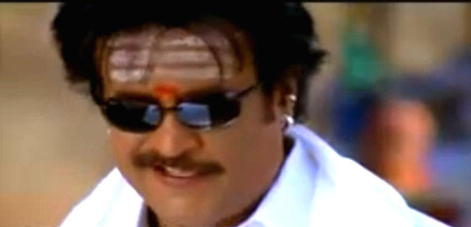 Rajnikanth Funny Look Still